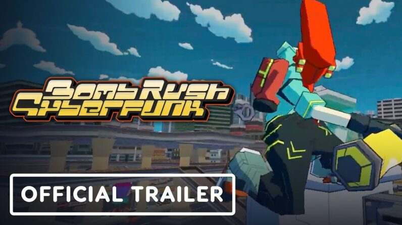 Bomb Rush Cyberfunk - Official Gameplay Trailer