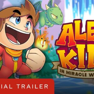 Alex Kidd in Miracle World DX - Official Reveal Trailer | Summer of Gaming 2020