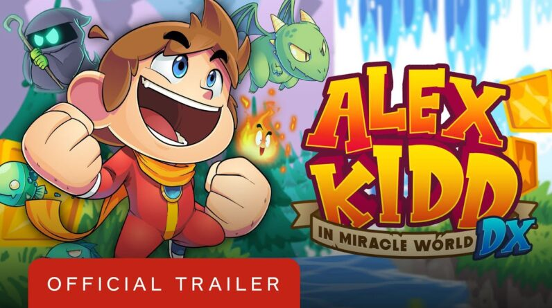 Alex Kidd in Miracle World DX - Official Reveal Trailer   Summer of Gaming 2020