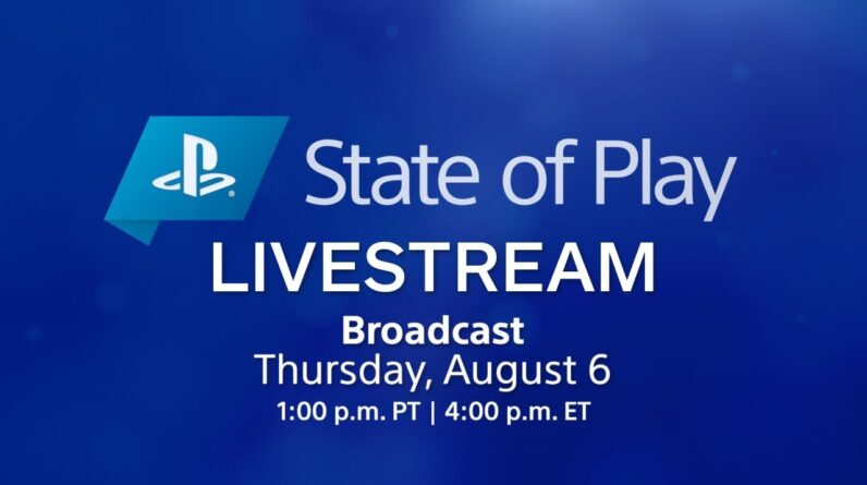 State of Play Livestream   PlayStation
