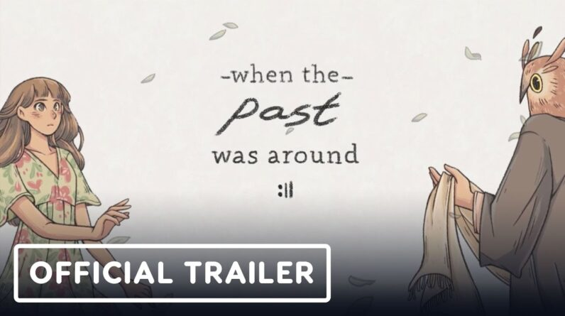 When the Past Was Around - Official Mobile Announcement Trailer