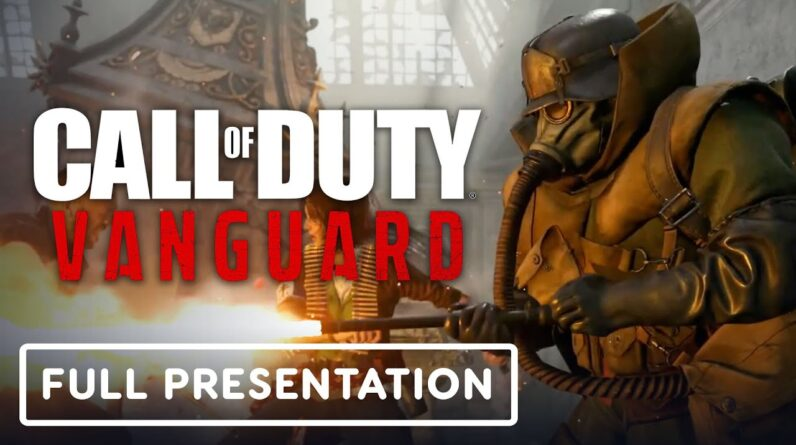 Call of Duty: Vanguard - Official Worldwide Multiplayer Reveal   Full Presentation