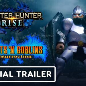 Monster Hunter Rise x Ghosts 'n Goblins Resurrection - Official Collaboration Trailer   TGS 2021