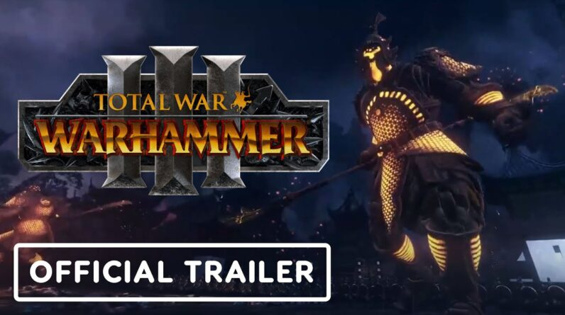 Total War: Warhammer 3 | The Dawn of Grand Cathay - Official Cinematic Trailer