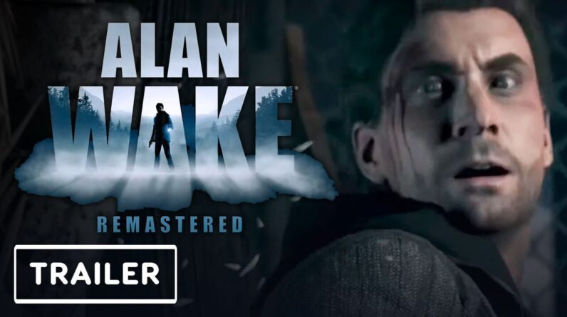 Alan Wake Remaster - Official Reveal Trailer   PlayStation Showcase 2021