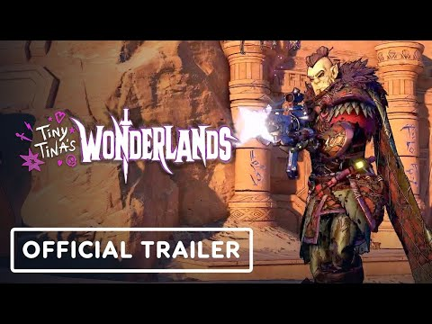 Tiny Tina's Wonderlands - Official Release Date Trailer   PlayStation Showcase 2021