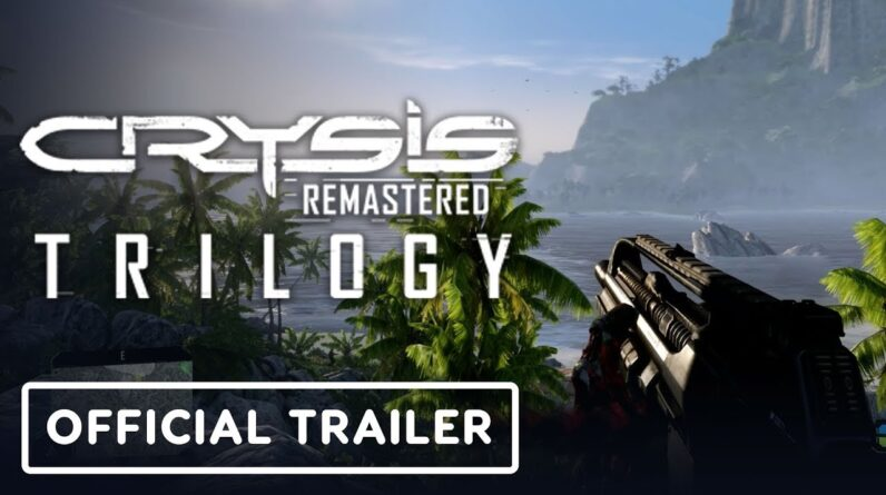 Crysis Remastered Trilogy - Official PS3 vs. PS5 Comparison Trailer