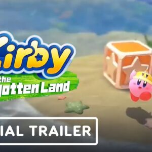 Kirby and the Forgotten Land - Official Reveal Trailer   Nintendo Direct