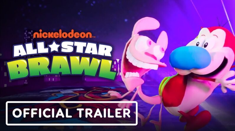 Nickelodeon All-Star Brawl - Official Ren & Stimpy Reveal Trailer