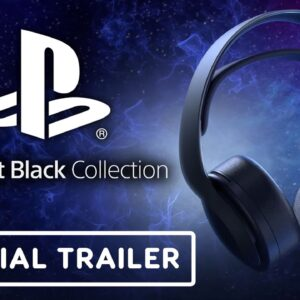 PS5 Midnight Black Pulse 3D Wireless Headset - Official Reveal Trailer