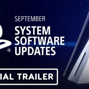 PS5 September System Software Update - Official Overview Trailer