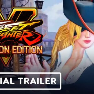 Street Fighter 5 - Official Ruby Heart Rose Costume Trailer