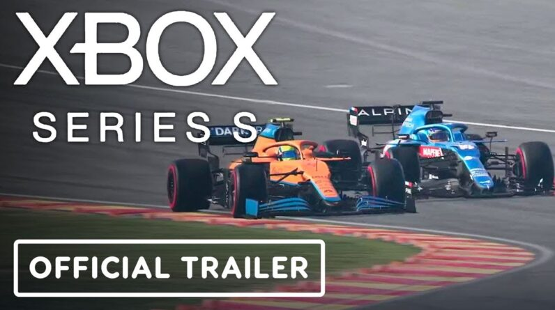 Xbox Series S - Official Next Gen is ready with F1 2021 Trailer