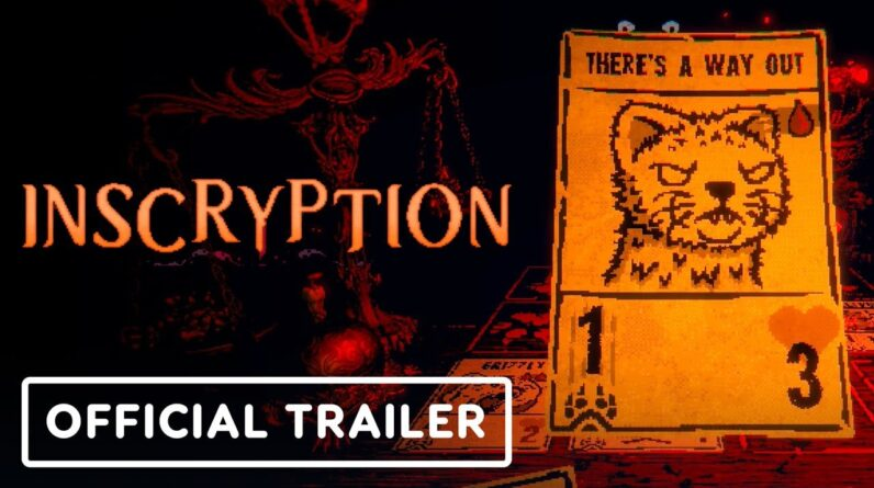Inscryption - Official Launch Trailer